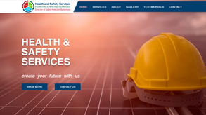 Multilingual website for health and safety services in Bulgaria