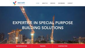Website for builsing solutions provider in Bahrain