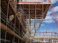 Tube and Fitting Cantilever Scaffold