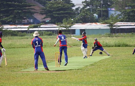 Vietnam's first national cricket team