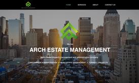 Website for estate management company