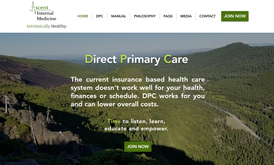 Website & SEO for direct primary care in USA