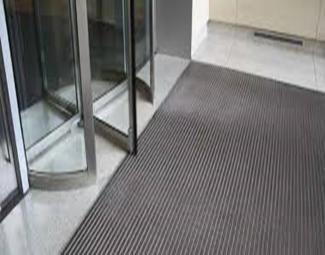 Door entrance mats