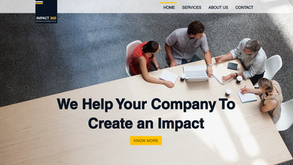 Website for marketing consultancy in India