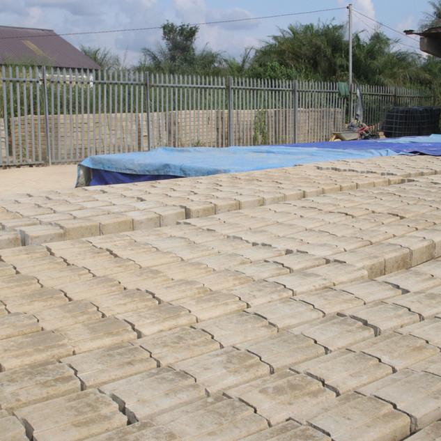 Curing Bricks