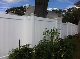 PVC Vinyl Fence Installation Long Island