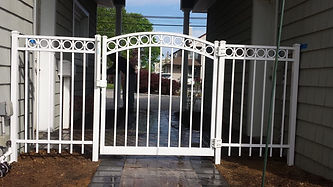 Alumium Fence Installation Long Island