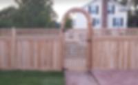 Cedar Arbor & Fence Installation Long Island