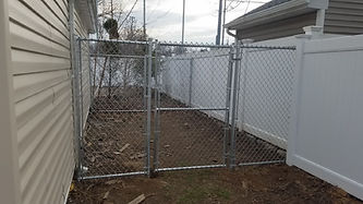 Chain link fence Installation Long Island