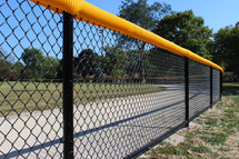 Commercial Chain Link Athletic Field Fen
