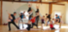 Dance class at High Mountain Hall