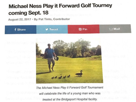 Michael Ness Play it Forward Golf Tourney