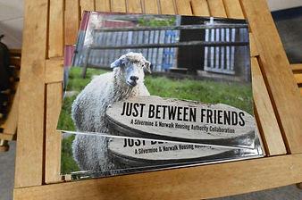 NHA book Just between Friends