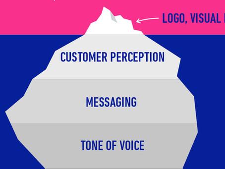 Branding is an Iceberg