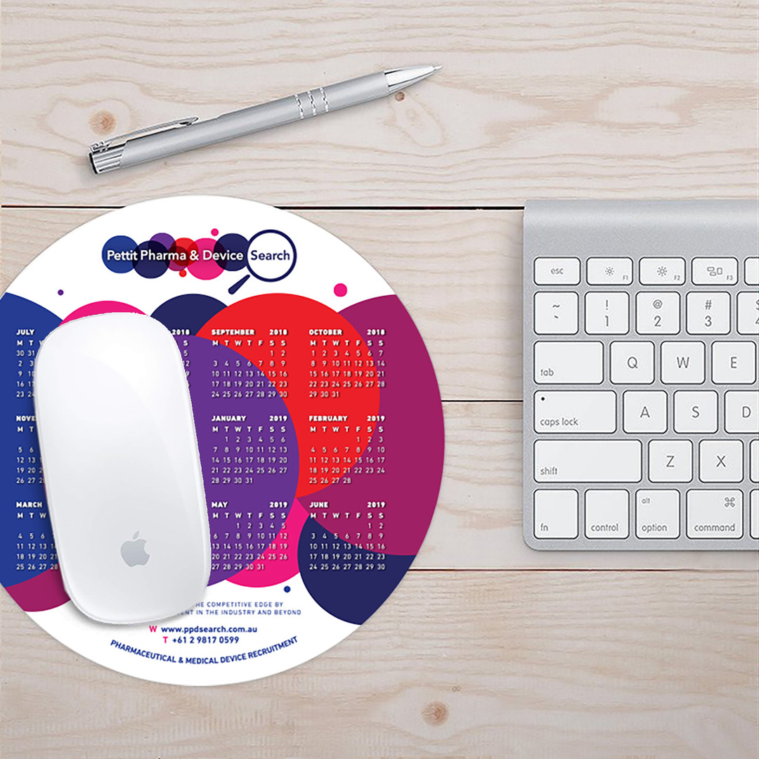 PPD Search - Promo Mouse Mat