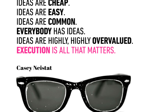 Are ideas are highly overvalued?