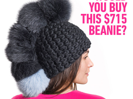 Would you buy this $715 Beanie