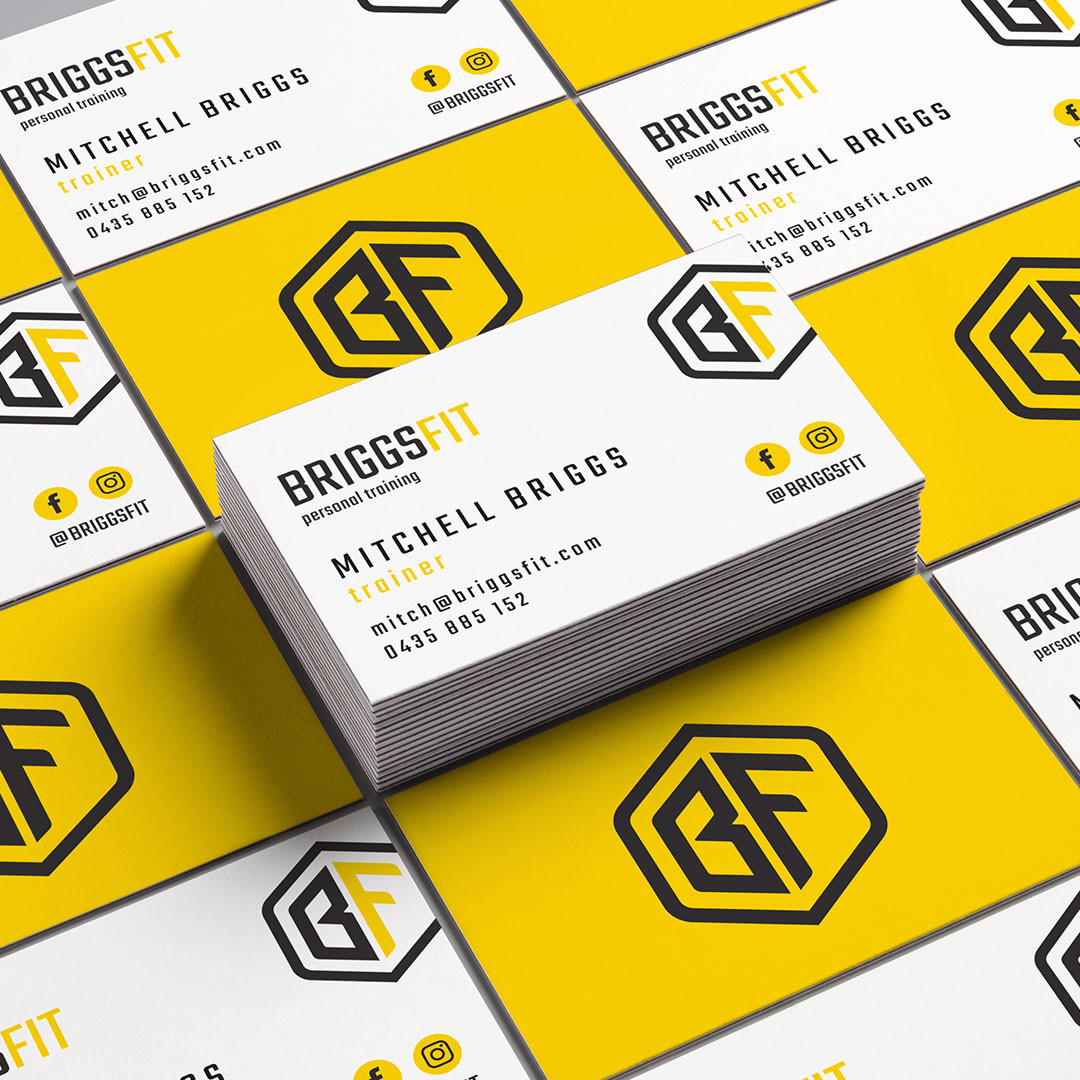 BriggsFit - Business card