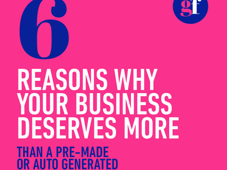 6 reasons why your business deserves to have a custom logo