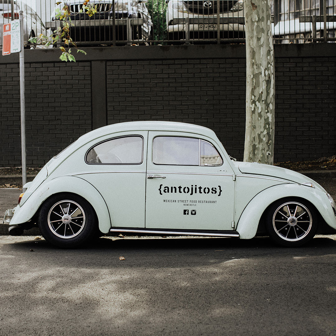 Antojitos Newcastle VW Beetle