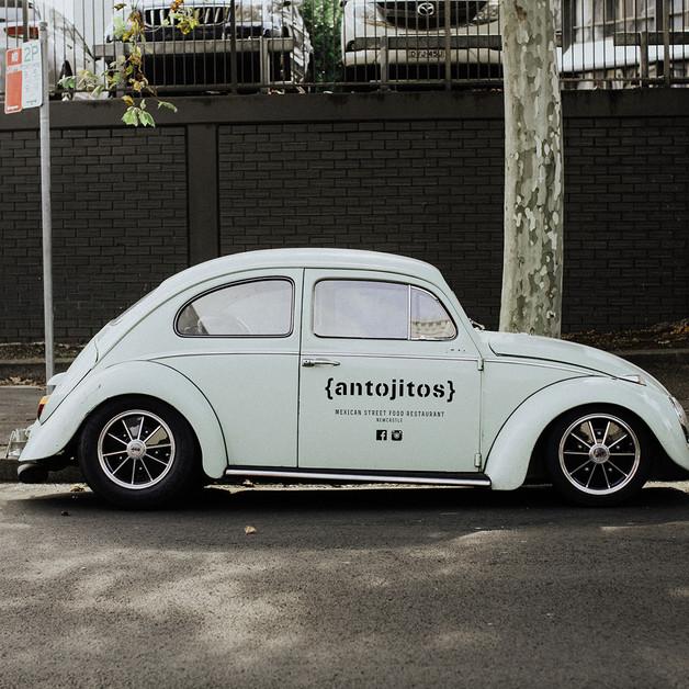Antojitos Newcastle VW Beetle
