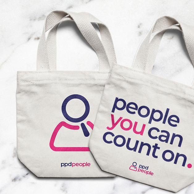 PPD People - Branding mockups