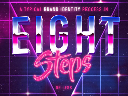 Brand Identity process in 8 steps or less