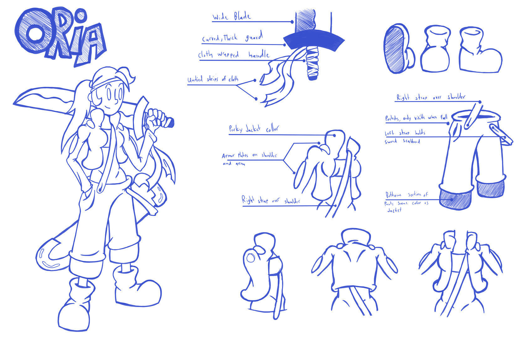 Oria Concept Art