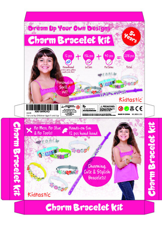 Dream Up Your Own Designs Charm Bracelet kit