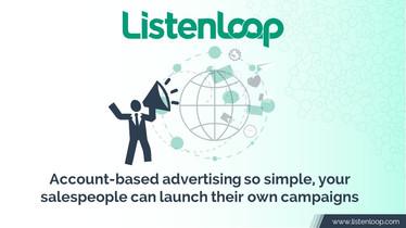 ListenLoop Account Based Advertising deck