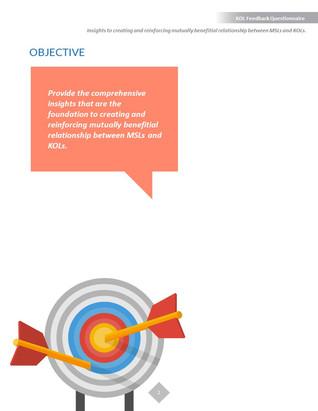 KOL Feedback Questionnaire Checklist Playbook