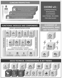 Comprehensive, Integrated, Customized Electronic Records for Oncology Infographic