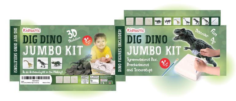 Kidtastic Dig Dino Jumbo Kit