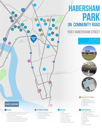 Habersham Park Map