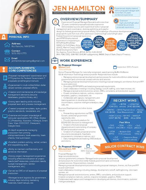 Jen Hamilton Infographic