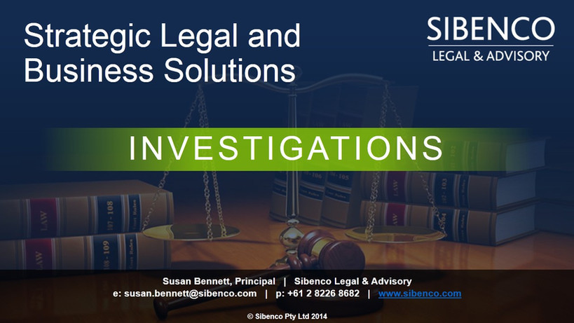 Strategic legal and business solutions