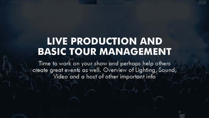 Touring and DIY Tour Managing