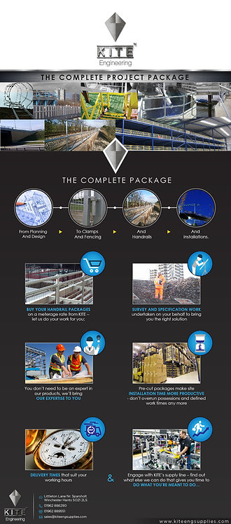 Kite Engineering The Complete Project Package Infographic
