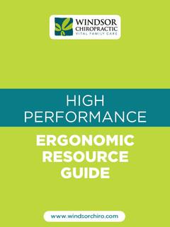 Ergonomic Resource Guide Playbook