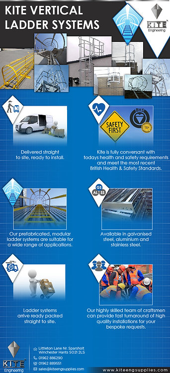 Kite Vertical Ladder Systems Infographic