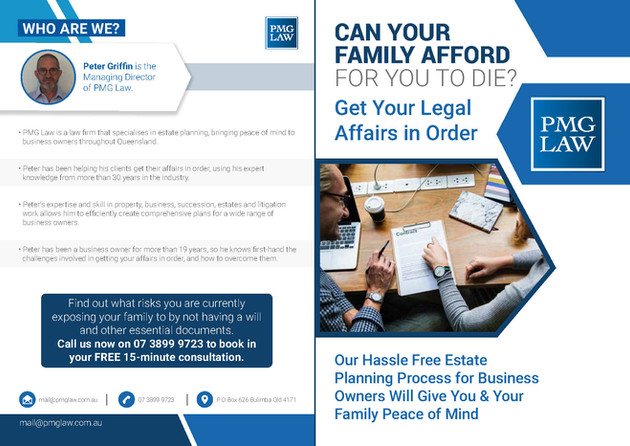 PMG law Brochures