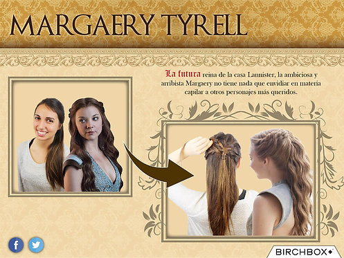 Margaery Tyrell Infographic
