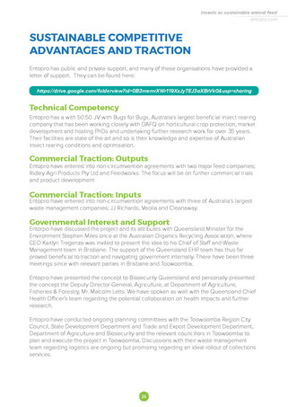 Sustainable Competitive Advantages And Traction
