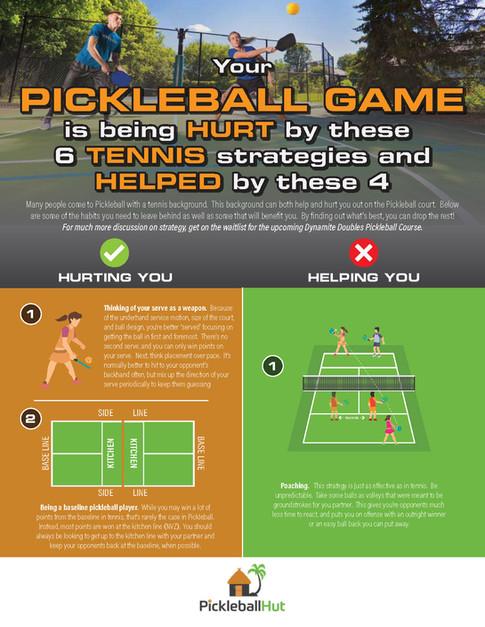 Pickleball game