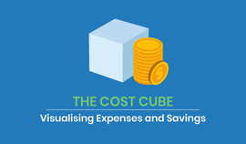 The Cost Cube Visualising Expenses and Savings