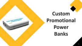 Custom Promotional Power Banks
