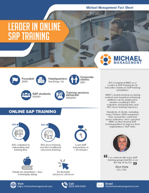 Leader in Online SAP Training