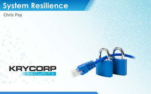 System Resilience Brochure