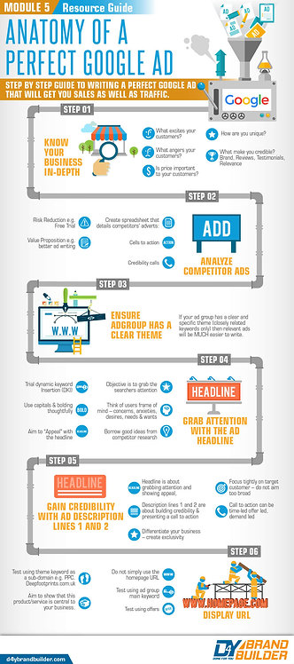 Module 5 Resource Guide Anatomy of a Perfect Google Ad Infographic