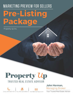Marketing Preview for Sellers Pre-Listing Package